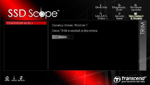 Transcend SSD Scope Ekran Görüntüleri - 1