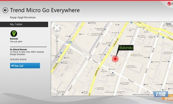 Trend Micro Go Everywhere Ekran Görüntüleri - 2