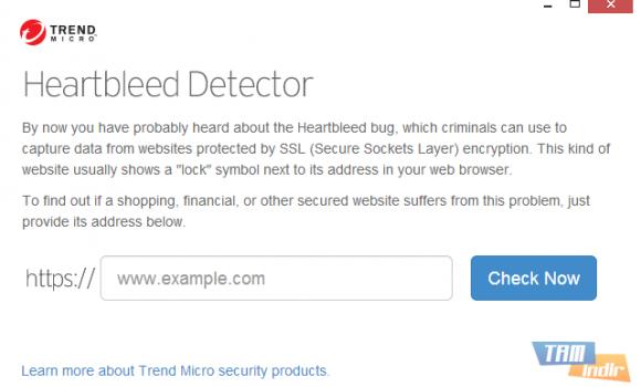 Trend Micro Heartbleed Detector Ekran Görüntüleri - 1