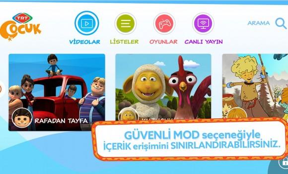 TRT Çocuk Mobil Ekran Görüntüleri - 5