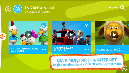 TRT Çocuk Mobil Ekran Görüntüleri - 4