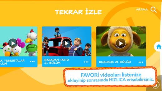 TRT Çocuk Mobil Ekran Görüntüleri - 3