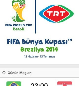 TRT Dünya Kupası 2014 Ekran Görüntüleri - 3