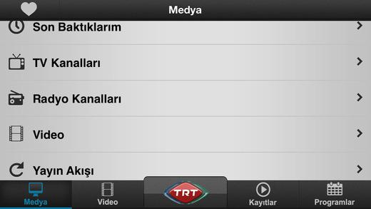 TRT Televizyon Ekran Görüntüleri - 1
