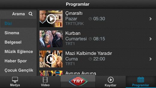 TRT Televizyon Ekran Görüntüleri - 5