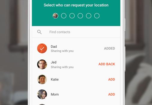 Trusted Contacts Ekran Görüntüleri - 1