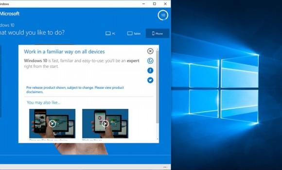 Try Windows 10 Ekran Görüntüleri - 1