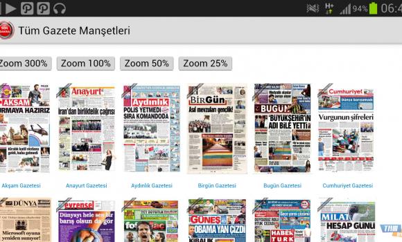 Tüm Gazete Manşetleri Ekran Görüntüleri - 3