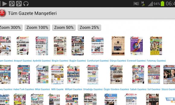 Tüm Gazete Manşetleri Ekran Görüntüleri - 2