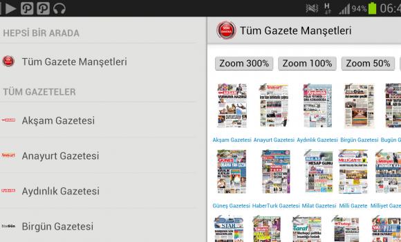 Tüm Gazete Manşetleri Ekran Görüntüleri - 1