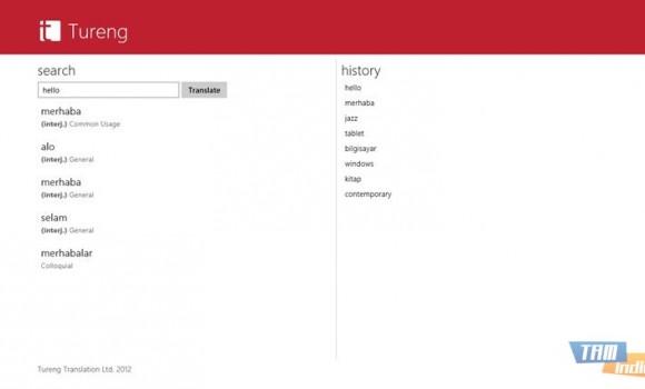 Tureng Sözlük (Windows 8) Ekran Görüntüleri - 3