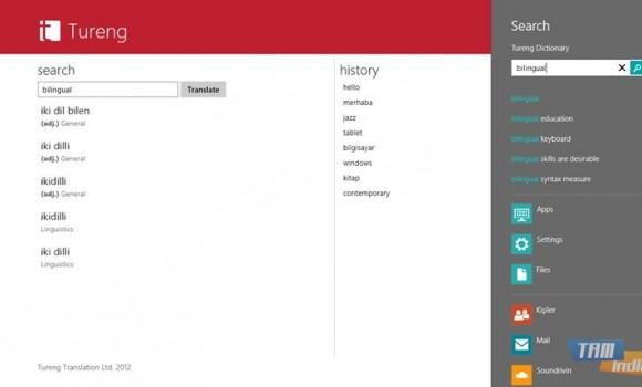 Tureng Sözlük (Windows 8) Ekran Görüntüleri - 2