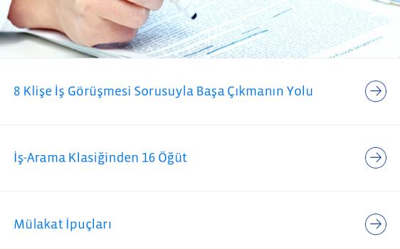 Türk Telekom Kariyer Ekran Görüntüleri - 2