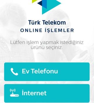 Türk Telekom Online İşlemler Ev Telefonu Ekran Görüntüleri - 4