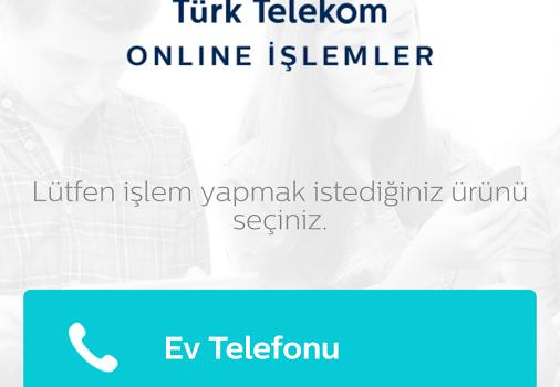 Türk Telekom Online İşlemler Ev Telefonu Ekran Görüntüleri - 5
