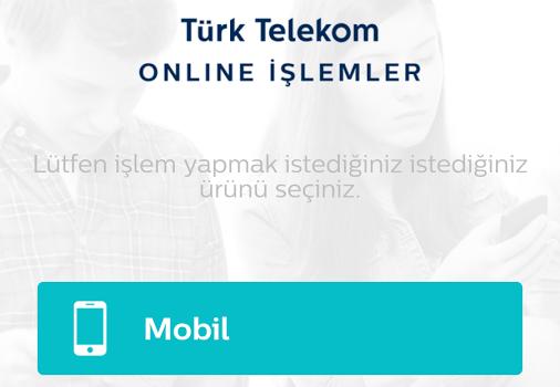 Türk Telekom Online İşlemler Mobil Ekran Görüntüleri - 5
