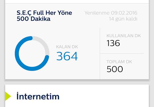 Türk Telekom Online İşlemler Mobil Ekran Görüntüleri - 2