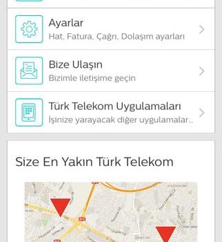 Türk Telekom Online İşlemler Mobil Ekran Görüntüleri - 1