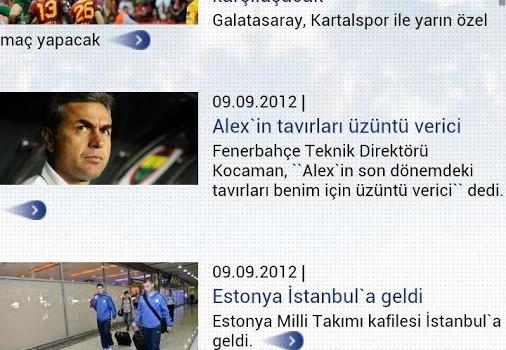 Turkcell Goller Cepte Ekran Görüntüleri - 3