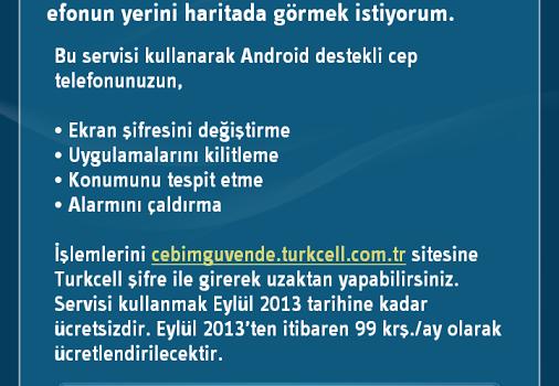 Turkcell Güvenlik Ekran Görüntüleri - 2