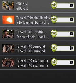 Turkcell İzle Kazan Ekran Görüntüleri - 2