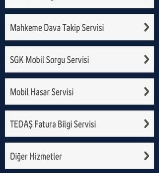 Turkcell Resmi İşlerim Ekran Görüntüleri - 3