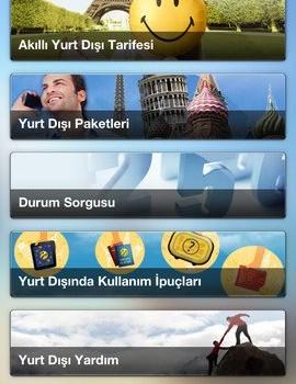 Turkcell Seyahat Ekran Görüntüleri - 2