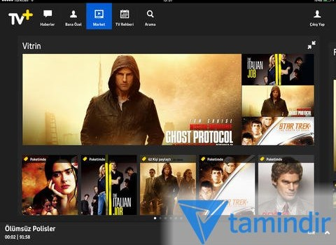 Turkcell TV+ for iPad Ekran Görüntüleri - 2