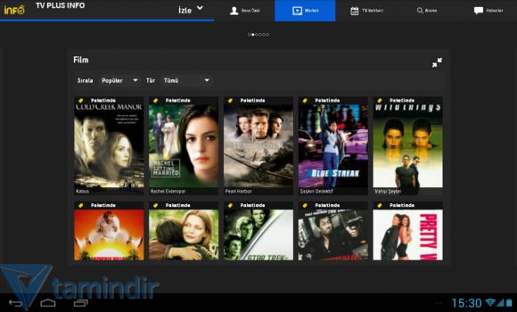 Turkcell TV+ Tablet Ekran Görüntüleri - 1