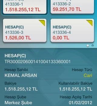 Türkiye Finans Mobil Şube Ekran Görüntüleri - 2