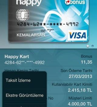 Türkiye Finans Mobil Şube Ekran Görüntüleri - 1