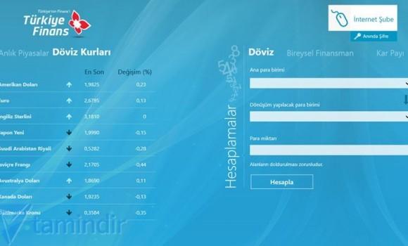 Türkiye Finans Ekran Görüntüleri - 2