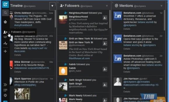 TweetDeck Ekran Görüntüleri - 1