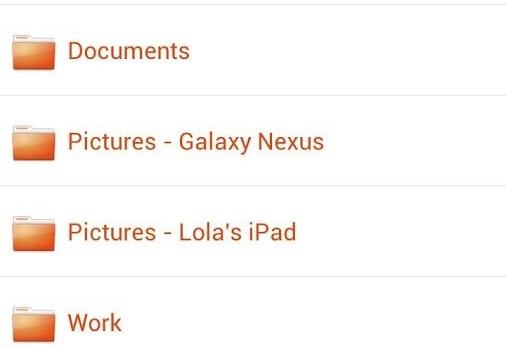 Ubuntu One Files Ekran Görüntüleri - 2