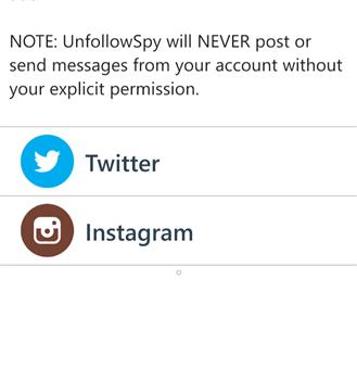 UnfollowSpy Ekran Görüntüleri - 2