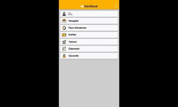 VakıfBank Mobil Bankacılık Ekran Görüntüleri - 1