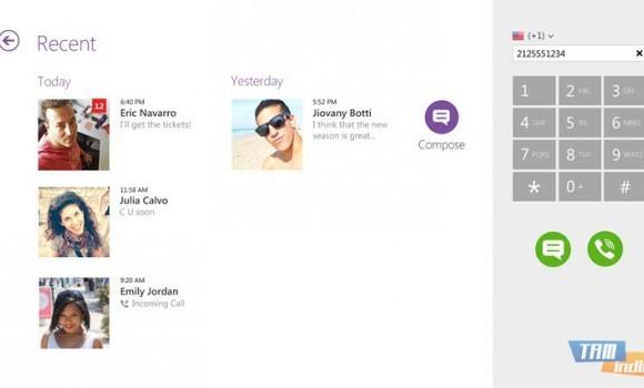 Viber (Windows 8) Ekran Görüntüleri - 2