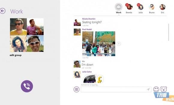Viber (Windows 8) Ekran Görüntüleri - 1