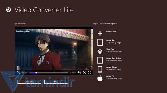 Video Converter Lite Ekran Görüntüleri - 2
