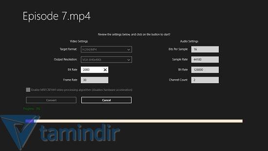 Video Converter Lite Ekran Görüntüleri - 1