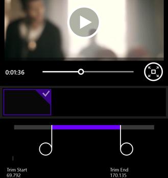 Video Editor 8.1 Ekran Görüntüleri - 1