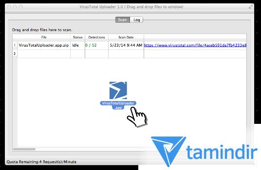 VirusTotal Uploader Ekran Görüntüleri - 3