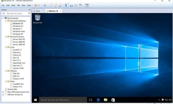 VMware Workstation Ekran Görüntüleri - 1