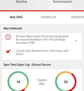 Vodafone Arena Ekran Görüntüleri - 4