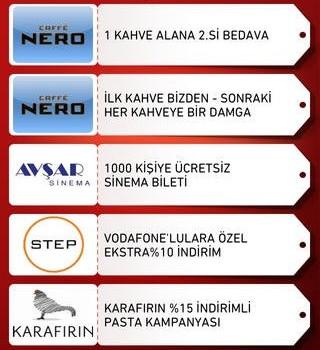 Vodafone Avantaj Cepte Ekran Görüntüleri - 1