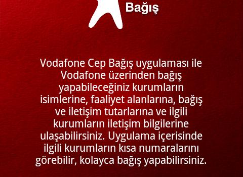 Vodafone Cep Bağış Ekran Görüntüleri - 2