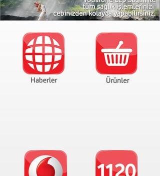 Vodafone Cep Sağlık Ekran Görüntüleri - 1