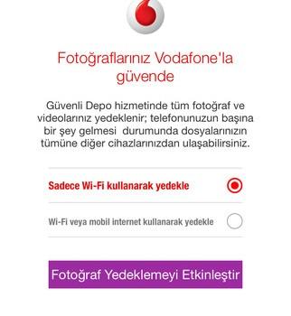 Vodafone Güvenli Depo Ekran Görüntüleri - 4