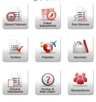Vodafone Self Servis Ekran Görüntüleri - 1