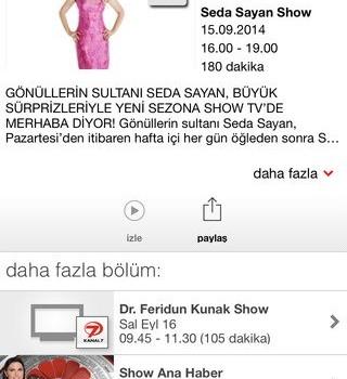 Vodafone TV Ekran Görüntüleri - 1